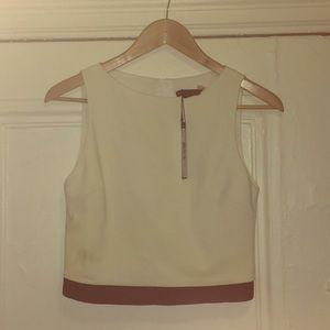 New Alice + Olivia Crop Tank Top Size XS